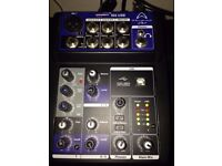 Wharfedale Pro CONNECT 502 USB - MIXER AUDIO 5 CHANNELS USB -USED