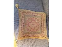 Cushion covers with tassels x3 - M&S