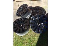 """18"""" Audi VW 5x100 5x112 alloy wheels"""