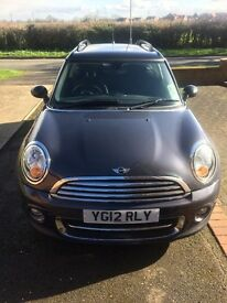 2012 Mini Cooper clubman petrol excellent condition
