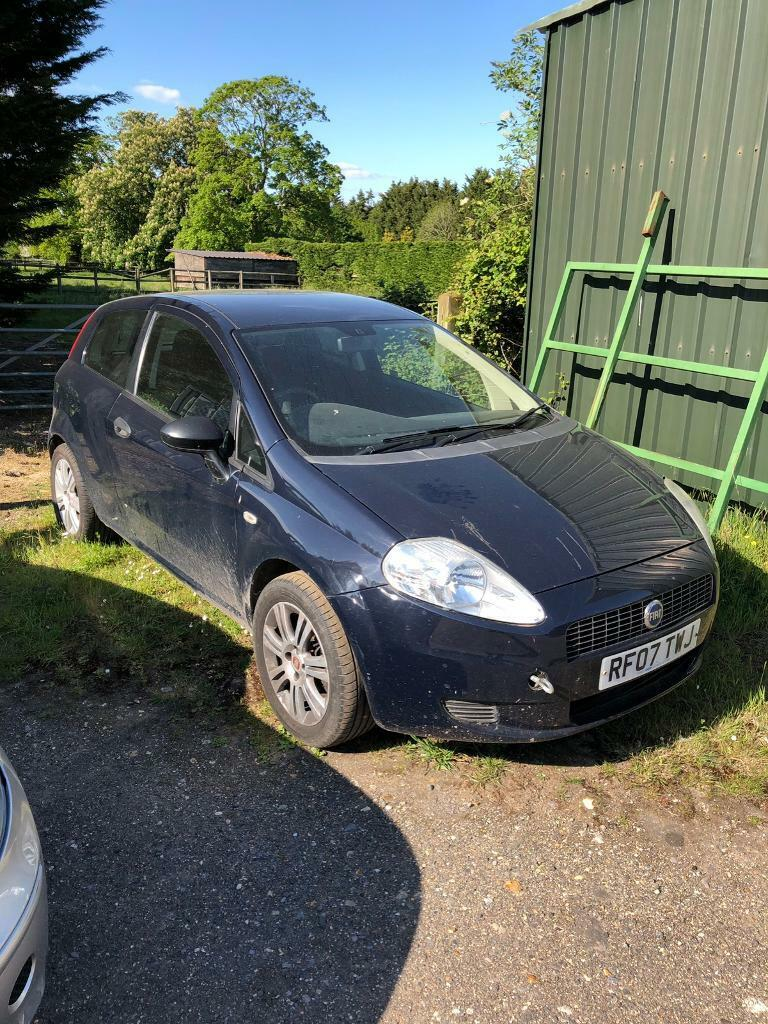 FIAT Punto 2007 spares or repairs | in Reading, Berkshire | Gumtree