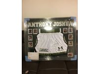 Anthony Joshua signed shorts need gone ASAP