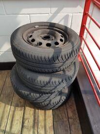 4 x Michelin 185/65 R14 Tyres