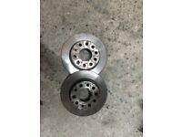 Vw golf mk5 rear brake discs