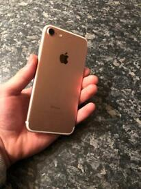 iPhone 7 32GB rose gold perfect condition