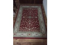 Red patterned rug 230 X 160
