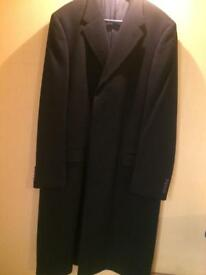 Gieves and Hawkes mans overcoat
