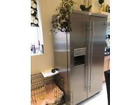 Admiral American style fridge freezer