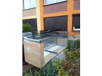 New 4ft 3 Aquarium for sale ,Fish tank for sale 130x45x70 12 mm