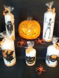 Halloween candles set of 5