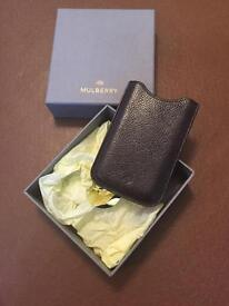 Genuine Mulberry iPhone 4s or 5 case