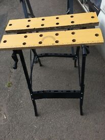 2x workmates/ work bench