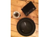 """Vibe 12"""" active subwoofer"""