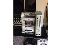 Xbox 360 loads of games 2 controllers collection only