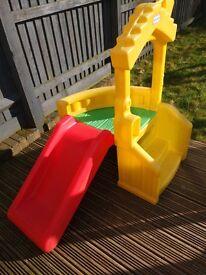 Little tikes outdoor slide