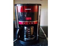 Morphy Richards Filter Coffee Maker Red