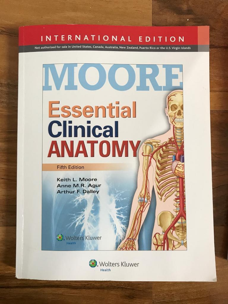 Essential Clinical Anatomy, 5th edition by Keith L. Moore, Anne M.R. ...