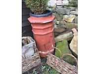 2x large original chimney pots