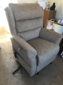 Fabric electric chair