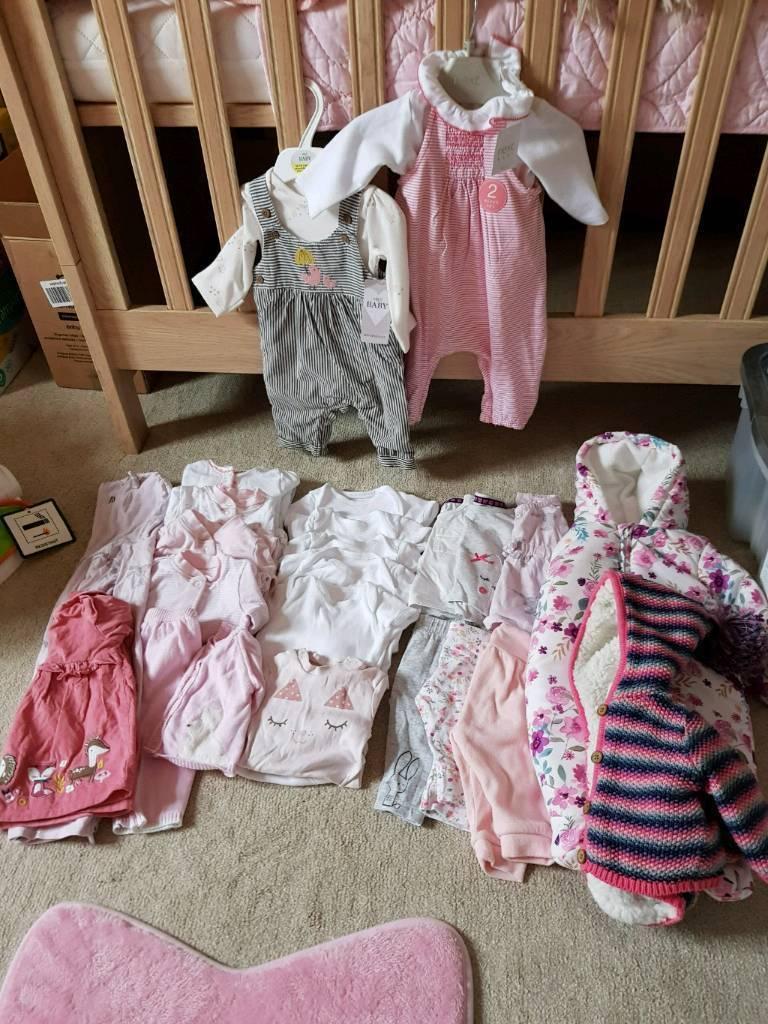 Newborn Baby Girl Clothes Bundle In Dundonald Belfast Gumtree