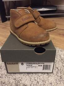 Boys Timberland boots size 7.5