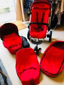 Quinny Buzz buggy and pram travel system