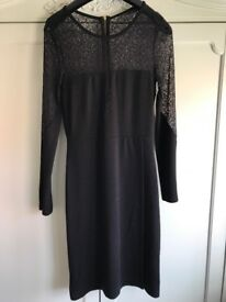 Black French connection dress size 12