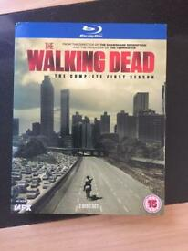 The Walking Dead Series 1 Blu Ray - New