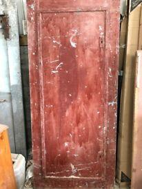 """Metal security door 2'10"""" X 6'8"""""""