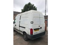 2002-2008 Vauxhall Movano Renault master LWB breaking parts