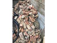 Free used bricks and rubble