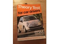 Theory test book for car drivers