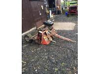 Flail mower for quad bike