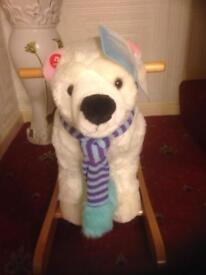 Singing brand new rocking polar bear