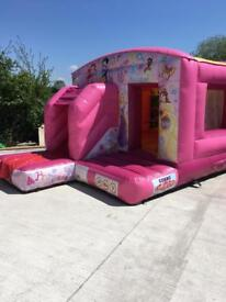 Princess bouncy castle for sale Great business ad on