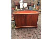 Small mahogany cupboard