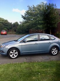 2009 Ford Focus 1.6 TDCI £30 a year tax MOT April 2018 Diesel FSH 58,500 miles