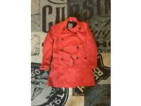 Ladies Armadillo Scooterwear red mac moped jacket