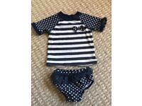 Baby Girls 6-12 Month Swimwear Set