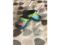 Crocs children size 8 shoes