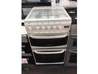 White creda 50cm gas cooker grill & oven good condition with guarantee