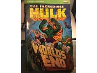 The incredible Hulk comic book