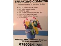 Offering domestic cleaning