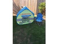 Kids Pop up tent and chair