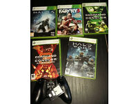 Xbox 360 Games, wireless controller