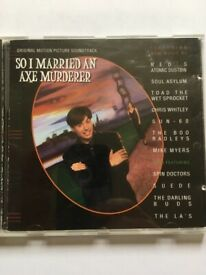 SO I MARRIED AN AXE MURDERER (SOUNDTRACK CD)