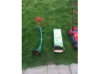 Sovereign Corded Rotary Lawnmower + Qualcast Corded Grass Trimmer - 250W COMBO GRAB A BARGAIN