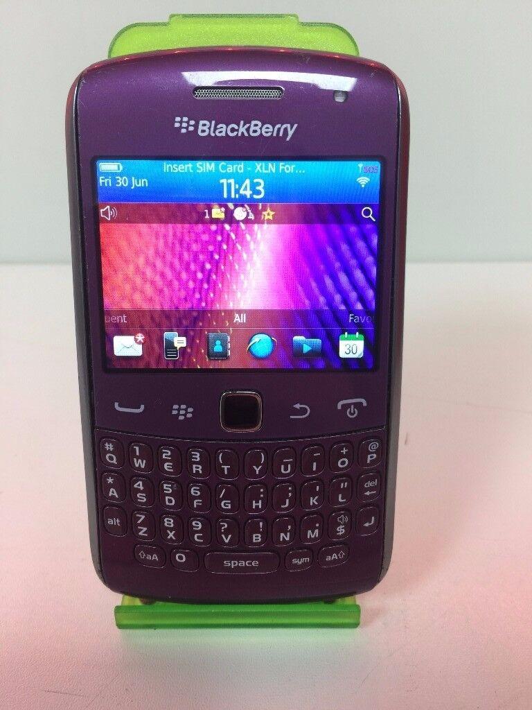 Blackberry 9360 - 4GB - O2 - Purple - SPT971