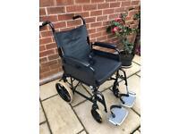 Wheelchair folding lightweight.