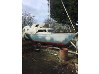 Sailfish sailing boat 19ft